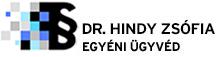 dr. Hindy Zsófia egyéni ügyvéd